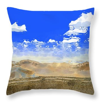 Big Country Throw Pillow