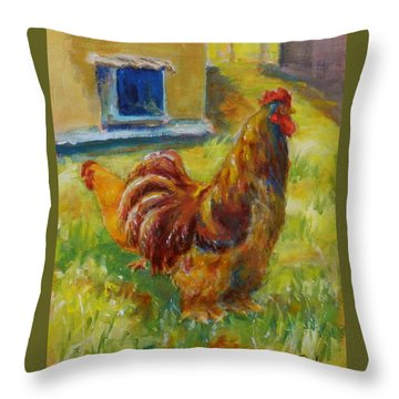 Big Daddy Throw Pillow by William Reed