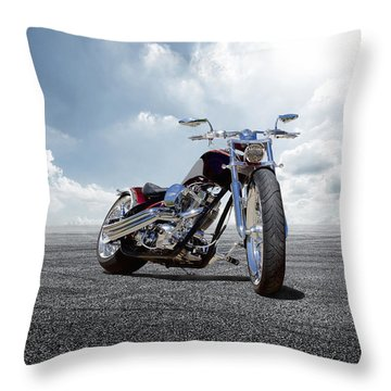 Throw Pillow featuring the photograph Big Dog Pitbull by Peter Chilelli