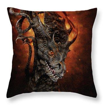 Big Dragon Throw Pillow