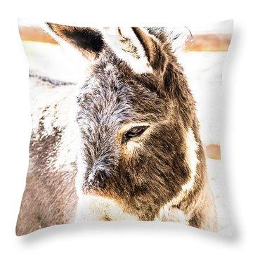 Big Ears Throw Pillow