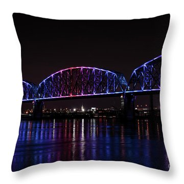 Big Four Bridge 2217 Throw Pillow