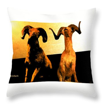 Big Game Canada - Fannin Sheep Throw Pillow