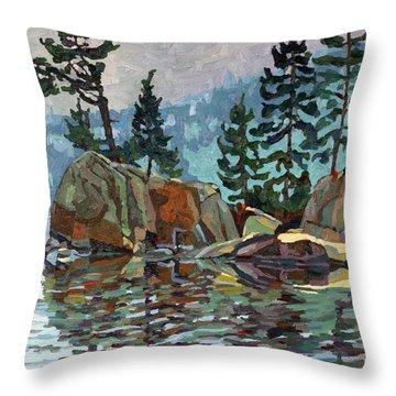 Big Joe Mufferaw Pines Throw Pillow