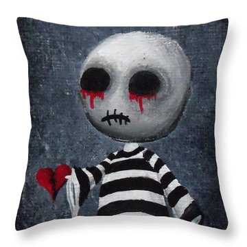 Big Juicy Tears Of Blood And Pain 1 Throw Pillow