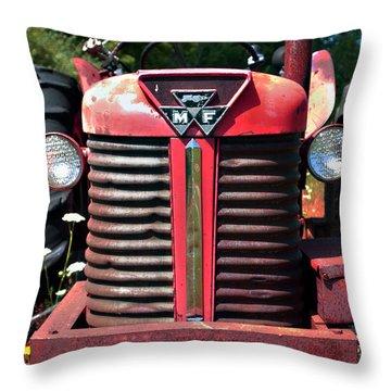 Big M - F Throw Pillow