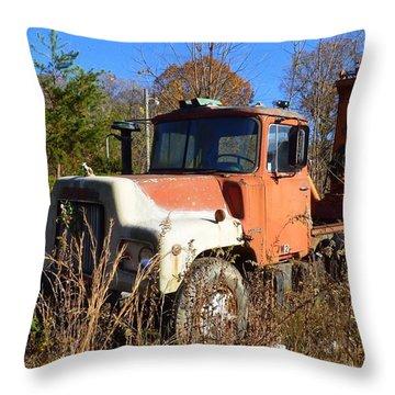 Big Mack Throw Pillow