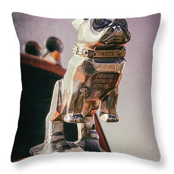 Throw Pillow featuring the photograph Big Mack by Daniel George