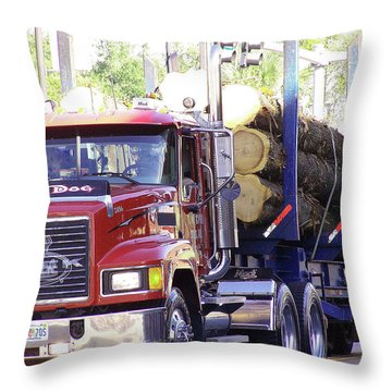 Big Mack Throw Pillow