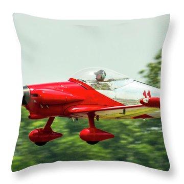Big Muddy Air Race Number 11 Throw Pillow