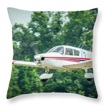 Big Muddy Air Race Number 19 Throw Pillow