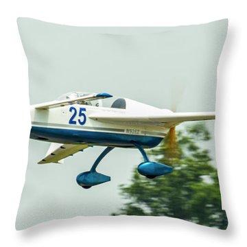 Big Muddy Air Race Number 25 Throw Pillow