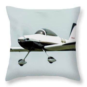 Big Muddy Air Race Number 44 Throw Pillow
