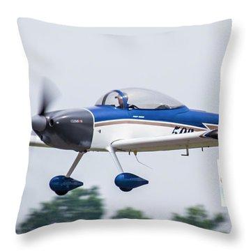 Big Muddy Air Race Number 503 Throw Pillow