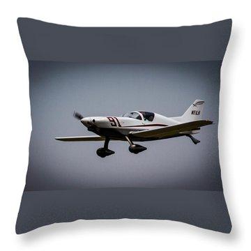 Big Muddy Air Race Number 91 Throw Pillow