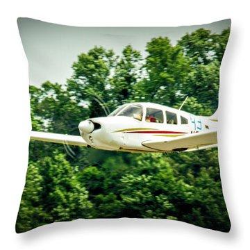 Big Muddy Air Race Number 93 Throw Pillow