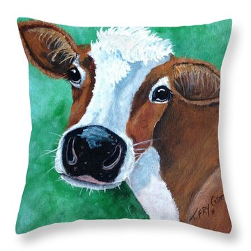 Big Nose Kate Throw Pillow