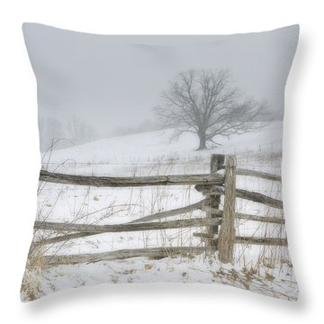 Big Oak Tree Throw Pillow