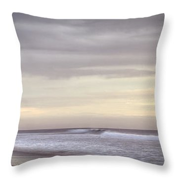 Big Ocean Throw Pillow