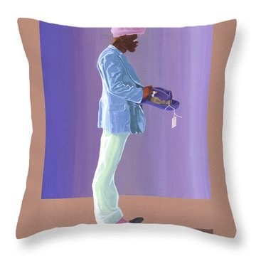 Big Otis Throw Pillow