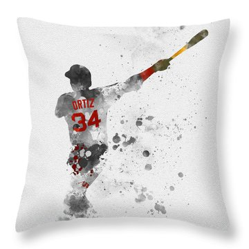 Big Papi Throw Pillow