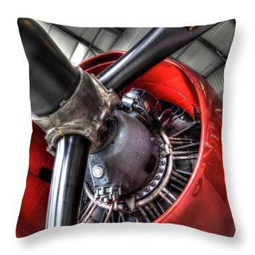 Big Power Throw Pillow
