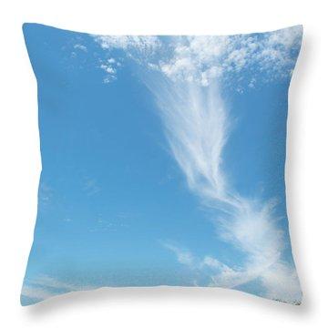 Big Sky Beach Throw Pillow