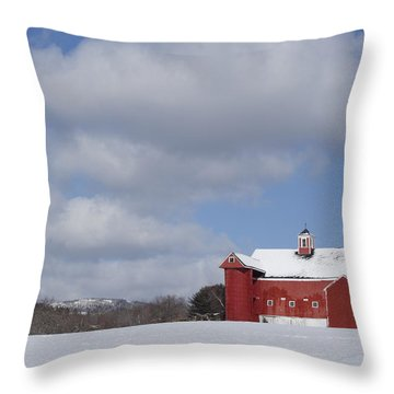 Big Sky Farm Throw Pillow