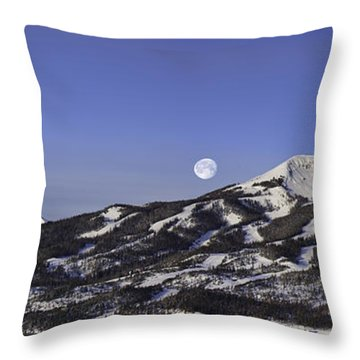 Big Sky Panorama Throw Pillow