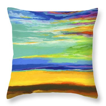 Big Sky Throw Pillow by Stephen Anderson