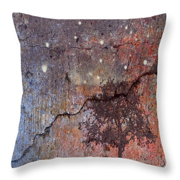 Big Stars Throw Pillow by Jessica Wright