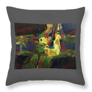 Big Step 16 Throw Pillow