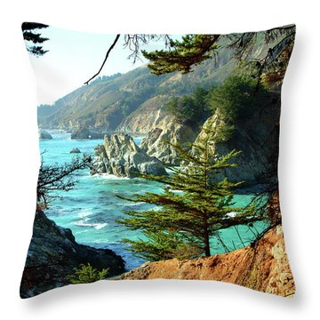 Big Sur Vista Throw Pillow