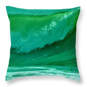 Big Surf 2 Throw Pillow