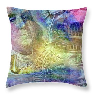 Big Time Throw Pillow