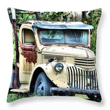 Big Tow Throw Pillow