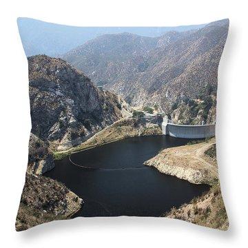 Big Tujunga Reservoir Throw Pillow
