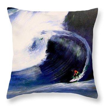Big Tunnel Dharma Throw Pillow