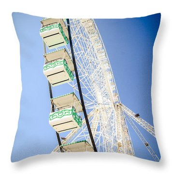 Throw Pillow featuring the photograph Big Wheel by Jason Smith