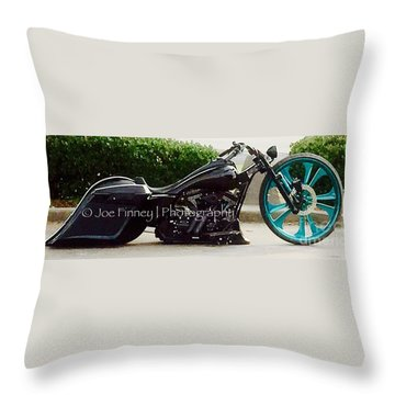 Throw Pillow featuring the photograph Big Wheel - No.1215 by Joe Finney