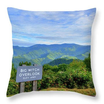 Big Witch Throw Pillow