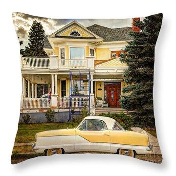 Big Yellow Metropolian Throw Pillow
