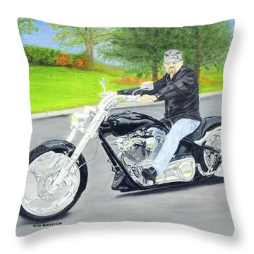 Bigdog Bulldog Throw Pillow