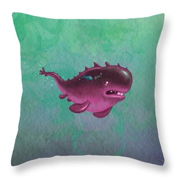 Bigfish Throw Pillow