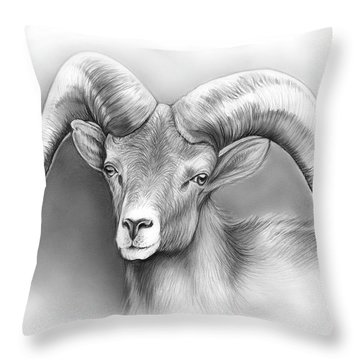 Ram Throw Pillows
