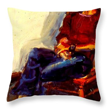 Bill Odbert Throw Pillow