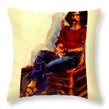 Bill Odbert Throw Pillow