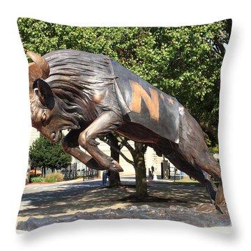 Bill The Goat - Usna Throw Pillow