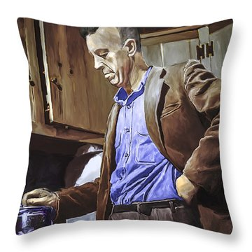 Bill Wilson Throw Pillow