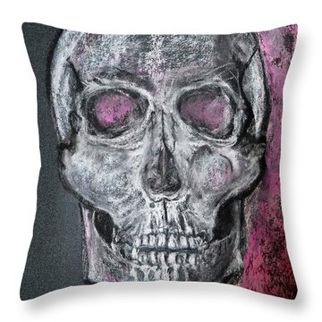 Billie's Skull Throw Pillow
